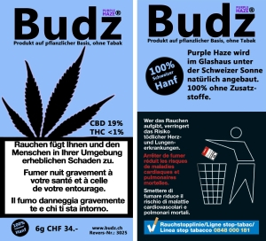 Neu: Budz Purple Haze